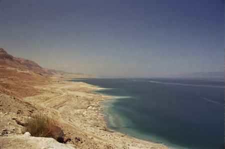 The Dead Sea. Sodom was known as a Dead Sea city.