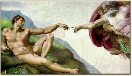 The Creation of Adam, Michelangelo, circa 1511 (Sistine Chapel, The Vatican)