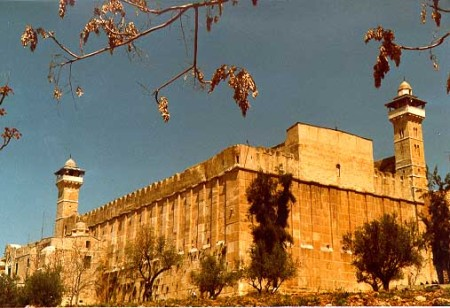The Ibrahimi Mosque in Hebron, built over the site of the tomb of Abraham