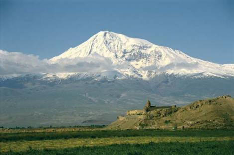 Mount Ararat in eastern Turkey