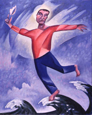 """Walking on Water"" by James B. Janknegt, 1991"