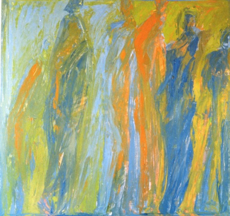 """""""The Exodus"""" by contemporary French artist Macha Chmakoff"""