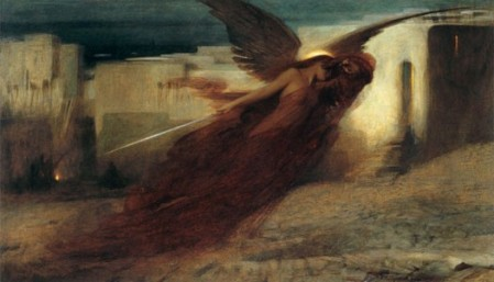 """And there was a great cry in Egypt""  by Arthur Hacker, 1897"