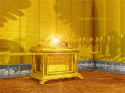 """The Ark of the Covenant""  digital art by Ted Larson"