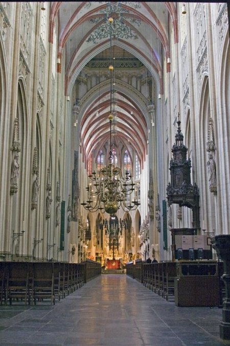 St. John's Cathedral in North Brabant, Holland -- a photograph by Tim Van Woensel