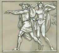 14. Zeus and Hermes