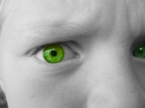 20. green eye