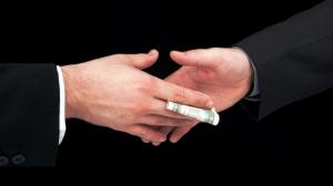 23. bribe