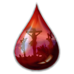 24.  blood of Jesus