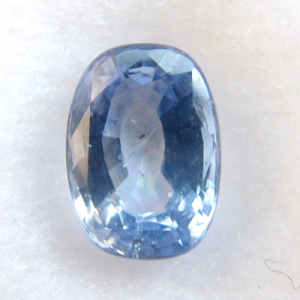 "Blue sapphire, ""clear as the sky itself"""