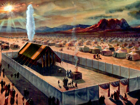 unknown artist's image of the Tabernacle