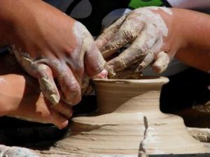 31. Clay Hands