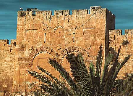 1. walls of Jerusalem