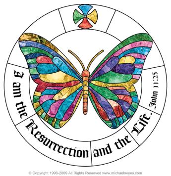 16. resurrection butterfly Noyes