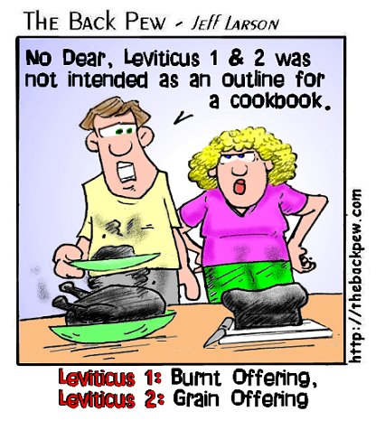 2. burnt offering cookbook