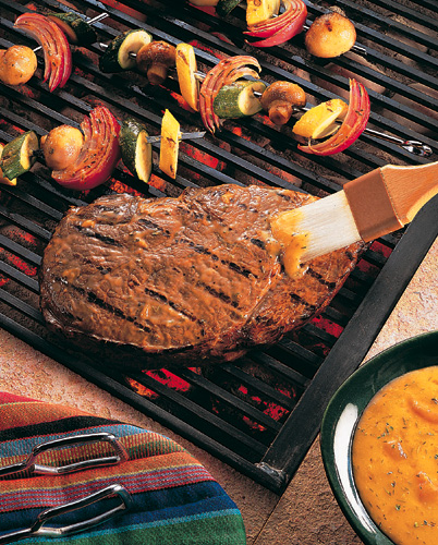 Grilled beef sirloin,