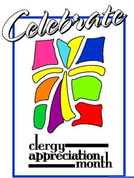 Which month is clergy appreciation month?  Every month that has a vowel!