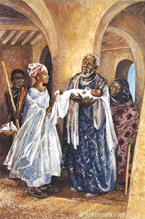 12. Jesus' presentation