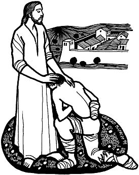14. Jesus cleanses a leper