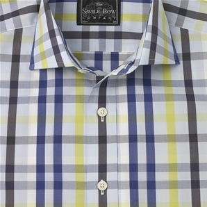 """Treat yourself to a spot of everyday luxury with this handsome, luxurious 'casual' shirt cut from a fine blend of 45% silk and 55% cotton."""