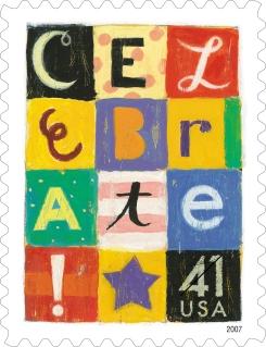 23. celebrate stamp