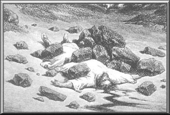 24. stoning