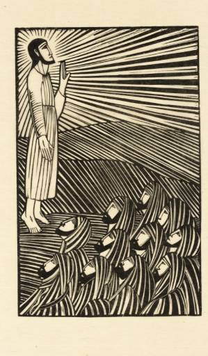 """Ascension"" by Eric Gill, 1918 (Tate Collection, London)"