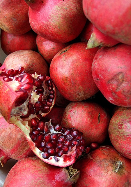 . . . and these pomegranates! . . .