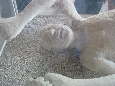 16. buried alive Pompeii