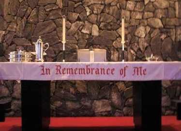 18. Altar