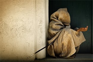 3. lame beggar
