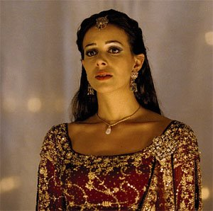 "Queen Esther from the movie ""One Night with the King."""