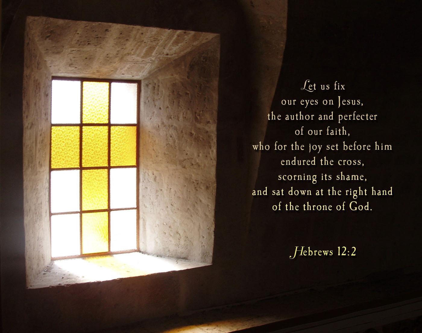 Hebrews 12 (New International Version)