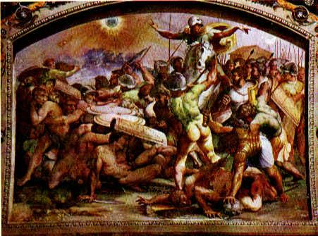 Raphael, Joshua stops the sun