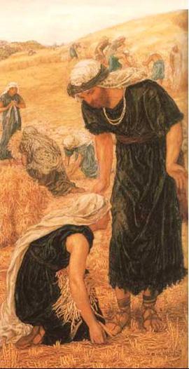 """""""Ruth meets Boaz"""""""