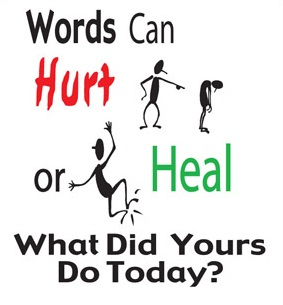 word can heal and word can Putting negative experiences into words seems to have positive physical   people who can write about life traumas seem to have fewer health.