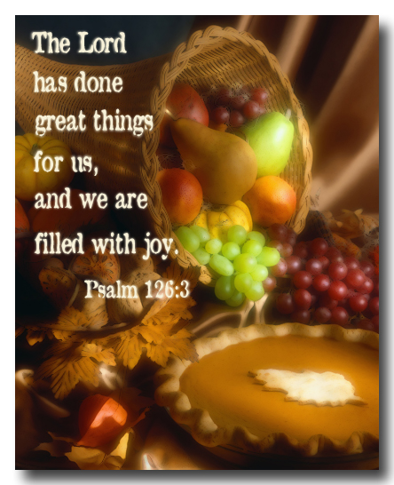 thanks giving praying