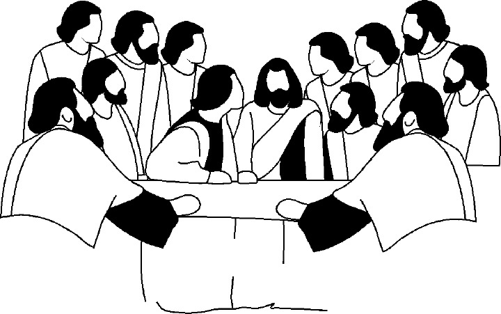 Disciples Clipart Black And White