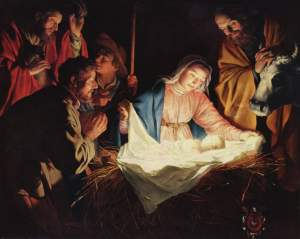 """Nativity"" by Gerard van Honthorst, 1622."
