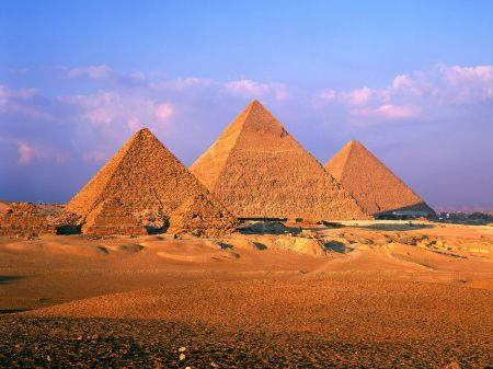 The Great Pyramids of Giza, ancient even when Abraham came to Egypt!