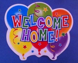 I35 welcome home