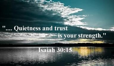 Isaiah 30 15