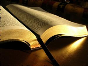 P119 open Bible