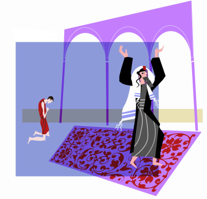 I58 Pharisee prays