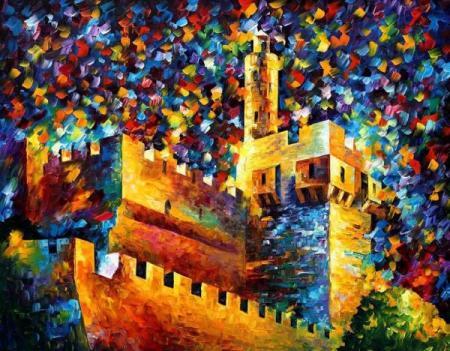 I66 old-jerusalem-leonid-afremov