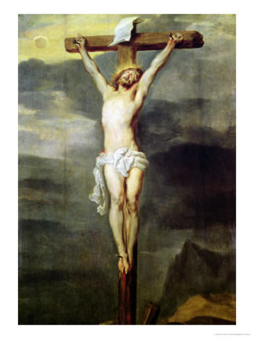 """Christ on the Cross"" by Sir Anthony van Dyke, 1627."