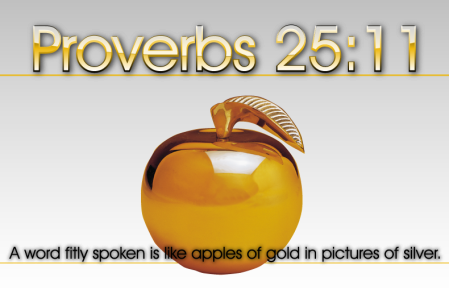 Pr 25 apples of gold