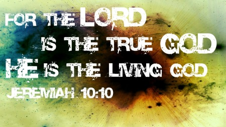 Jer10 living God