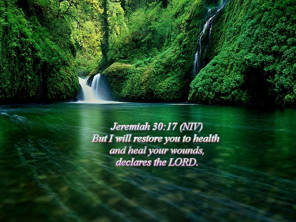 Simple Wallpaper Horse Bible Verse - jer30-17-waterfall  Picture_152118.jpg