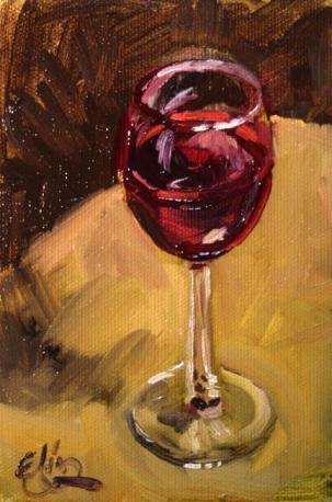 J35 painting-of-a-glass-of-wine